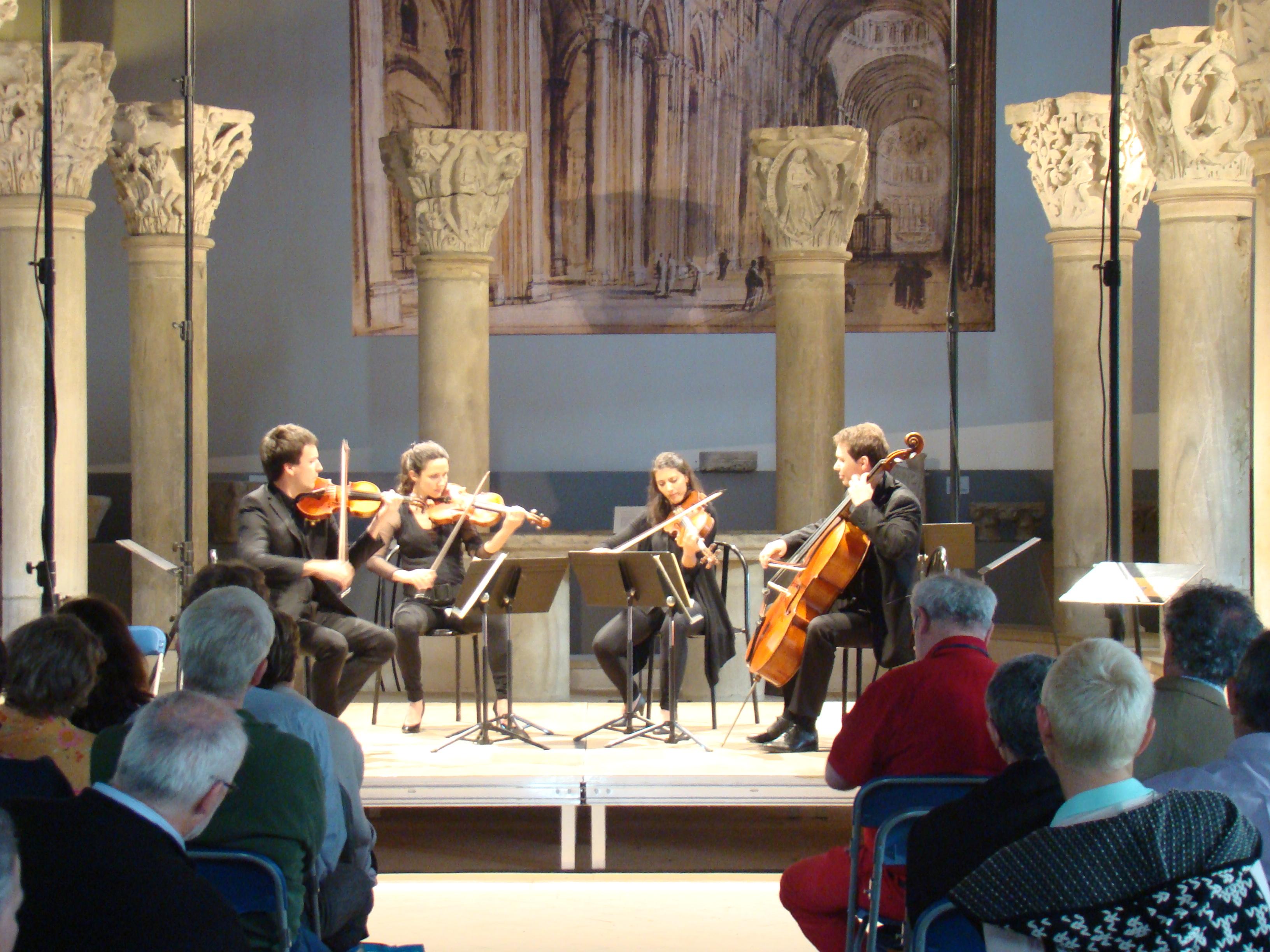 Abbaye Cluny (71) Musique en Voûtes