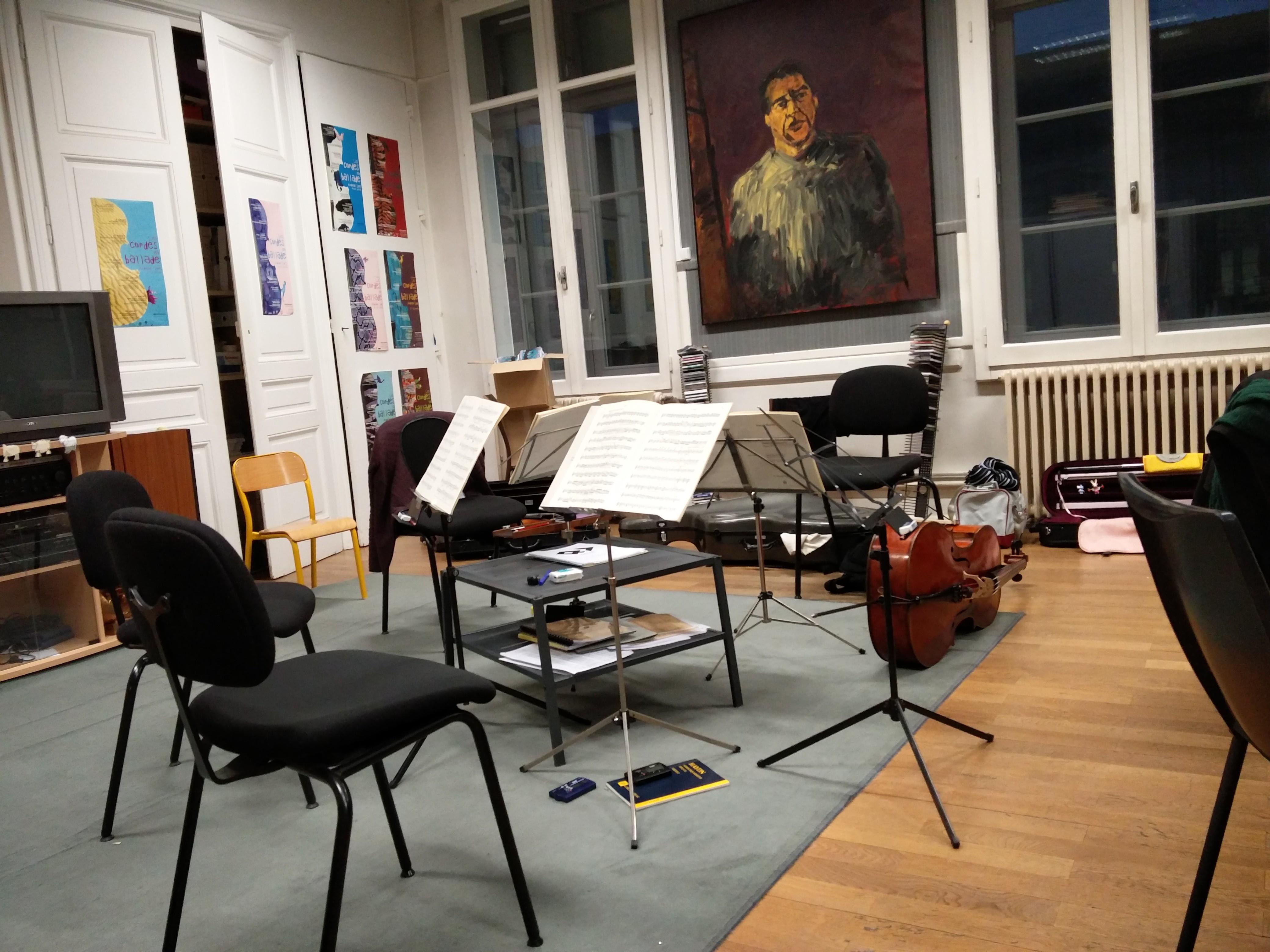 Lyon (69) - Chez les Debussy!