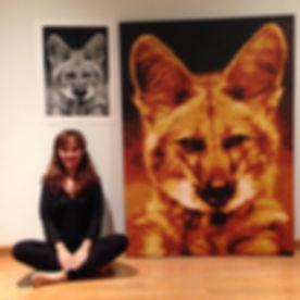 pixel art lobo guará