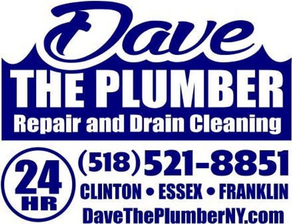 Dave the plumber 24hr repair and drain cleaning, call 518-521-8851 for free phone advice, serving Malone, Plattsburgh, and Lake Placid NY