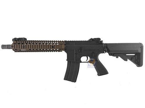 Classic Army CA117MT M4 MK18 MOD 1 CQB Full Metal AEG (Bronze RIS2)