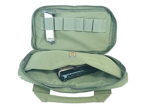 FLW Handgun Pistol Bag Soft Case - Medium - OD
