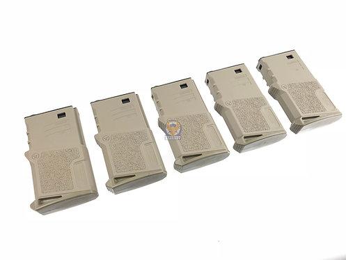 ARES Amoeba 120 rds Short Magazines for M4 / M16 AEG DE (5 piece)