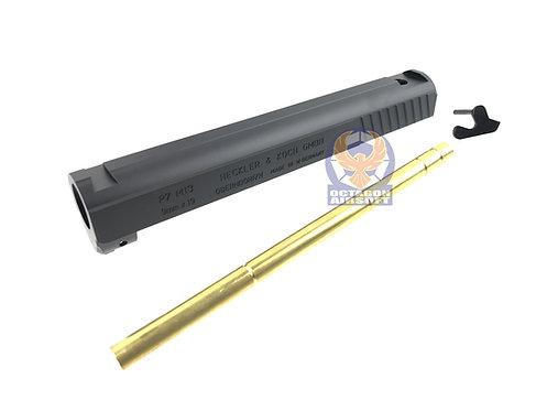 6061 Alumium Slide Kit For MGC P7M13 Schumaher GBB Pistol (Black)