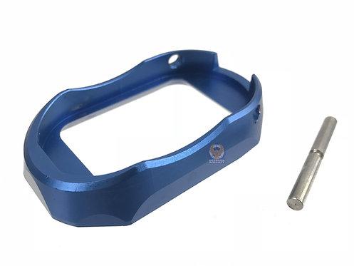 5KU-GB-284-BU Aluminum SPY Style Magwell for Marui Hi-Capa (Blue)