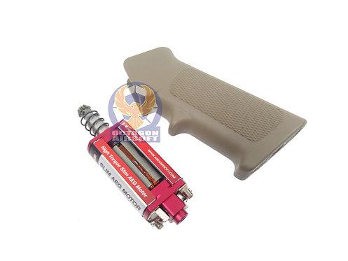 ARES M4 Slim Pistol Grip + High Torque Slim AEG Motor (DE)
