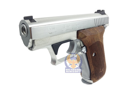 MGC P7M13 GBB Pistol with Rose Wood Grip (SV)