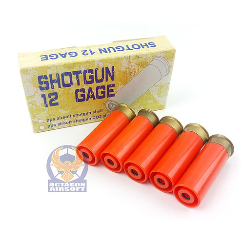PPS PlasticShells (5 Shells) For Tanaka & PPS Gas Shotguns