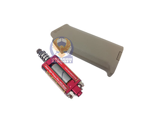 ARES Amoeba M4 slim Grip + Super High Torque Slim AEG Long Shaft Motor (DE)
