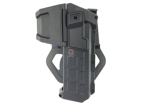 FLW Tactical Movable Right Hand Pistol Holsters for 1911 (BK)