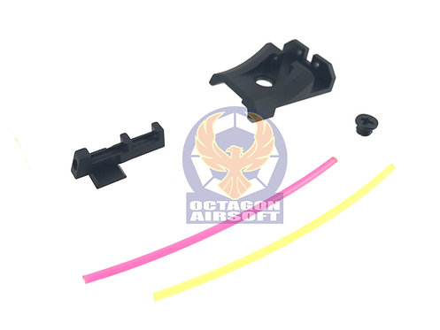 AIP005-TM43 AIP Alumimun Front and Rear Sight ( Fiber) For TM 4.3