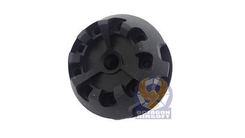 5KU-182-A Cookie Cutter Type B 14mm CCW Flash Hider (BK)