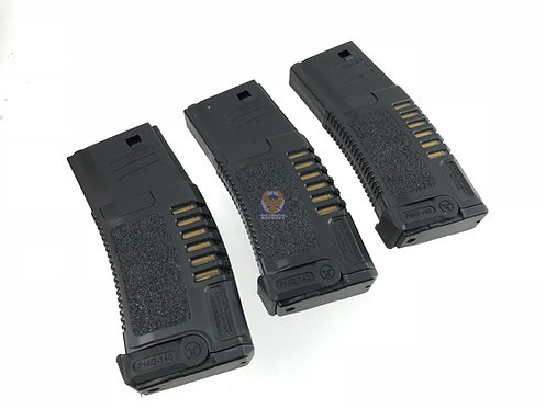 ARES Amoeba 140 rds Magazines for M4 / M16 AEG (3 piece)