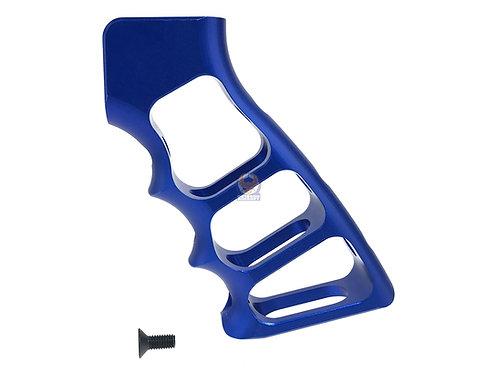5KU CNC Skeletonized Grip For GBB M4 (Blue)