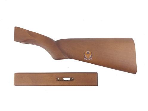 FCW Real Wood Kit for Hawsan Double Barrel Gas Shotguns Type A (L/L)