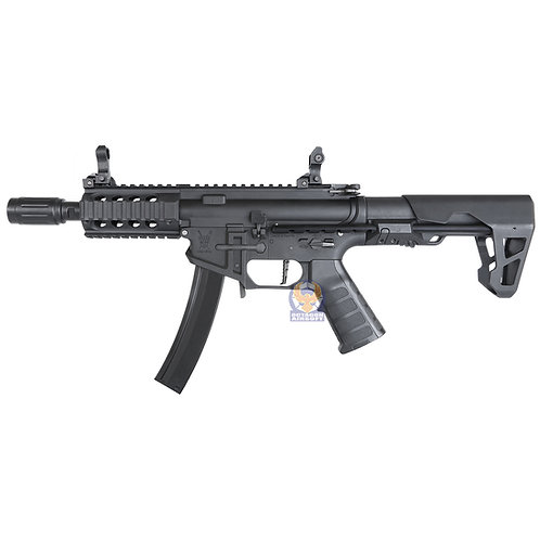 King Arms PDW 9mm SBR Shorty AE (BLACK)