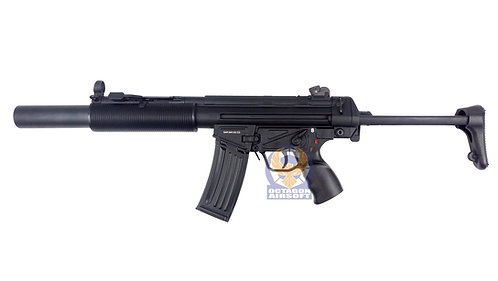 Classic Army Plus CA024MZ1 HK53SD AEG with Folding Stock (No Sling Mount)