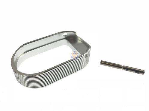 5KU-GB-258-S Hot Shot Style Magwell for Marui Hi-Capa [SV]