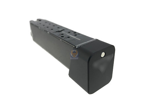 FCW TT Style Marking Metal Mag Base For Marui System G Series Black&nbsp