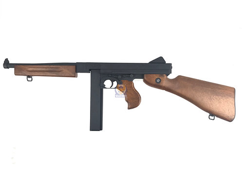 Cybergun Licensed / WE M1A1 Thompson Gas Blow Back SMG.