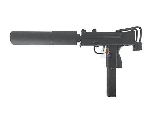 KSC M11A1 SMG GBB System 7 Version with FLW Silencer Set (Black)