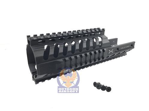 Helix Axem CNC Machined 9 inch KV Rail RAS for KWA VECTOR GBB (BK)