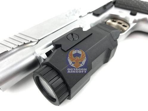 I.F. style Tactical Flashlight (Black)