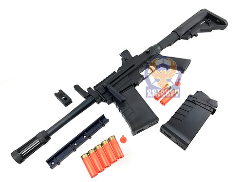 PPS XM26 Shell Ejecting Gas Shotgun w/ Rail mount, 5pcs Shell Set and Extra Mag