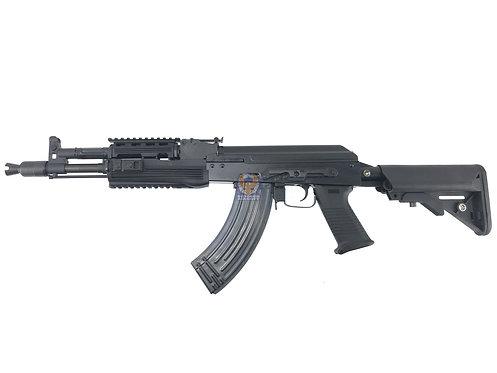 E&L AK-104 PMC Tactical Full Steel Airsoft Gun A110-B AEG Rifle