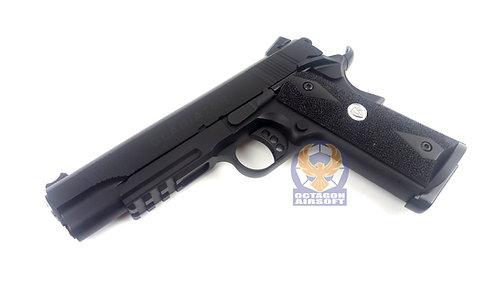 APS Metal M1911 MARCUX GBB Pistol (BK)