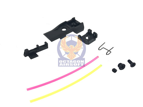 AIP005-T51AJ AIP Adjustable Alumimun Front and Rear Sight (Fiber) For TM 5.1