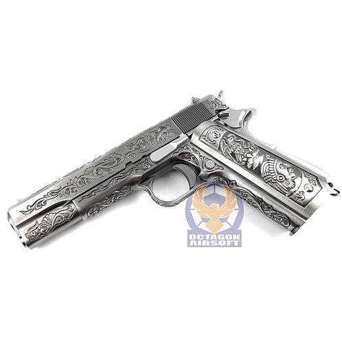 WE 1911 Floral Pattern GBB Pistol (SV)
