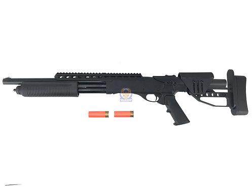 PPS M870 Tactical w/ ST04 Stock Pump Action Gas Shotgun - (2 shell set)