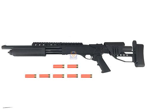 PPS M870 Tactical w/ ST04 Stock Pump Action Gas Shotgun - (7 shell set)