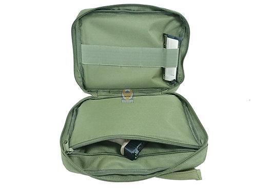 FLW Handgun Pistol Bag Soft Case - Small - OD