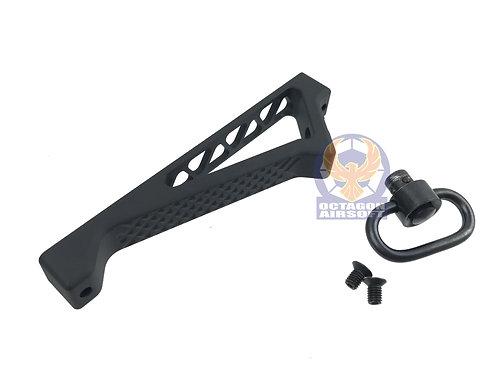 5KU-188B Angled Grip For KeyMod Rail System[BK]