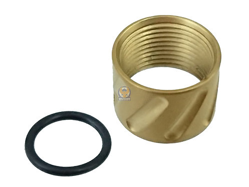 5KU-GB-456-G Thread Protector for -14mm CCW Barrel (Golden)