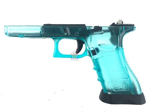 FLW Gen 3 Lower w/ Internal Parts Transparent Blue