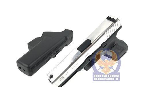 TANAKA G17 GEN 2 GBB Metal Slide Custom (Chrome)