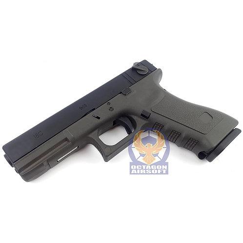 SAA G18C Semi / Auto GBB Pistol (OD)