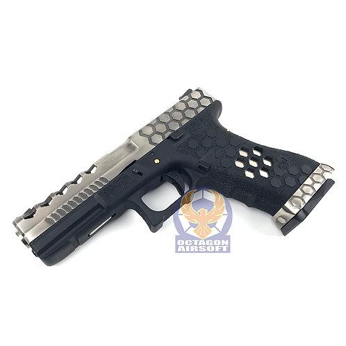 AW Hex Style Custom G17 GBB VX0100 (SV / BK)