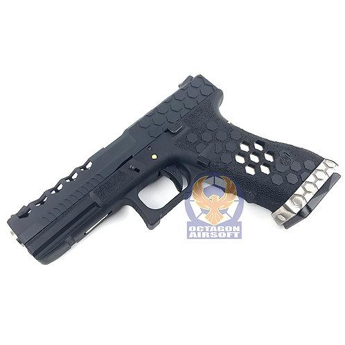 AW Hex Style Custom G17 GBB VX0101 (BK)