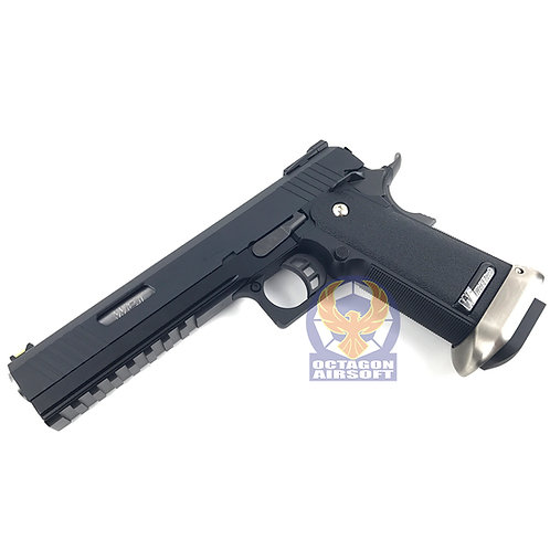 WE Hi-Capa 6.0 I-REX Type B GBB Pistol no marking ver (BK / SV)