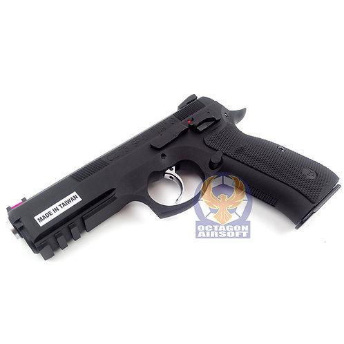 KJW CZ 75 SP-01 Shadow GBB Pistol BK