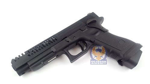 Army R34-D Style Gas Blow Back Pistol (BK)