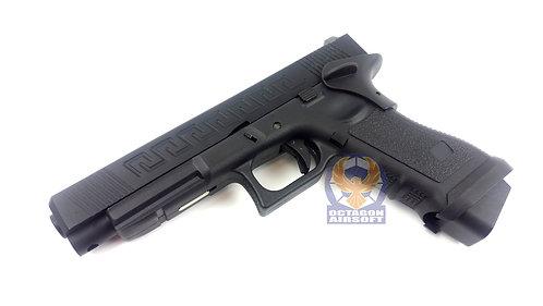 Army R34-J Style Gas Blow Back Pistol (BK)