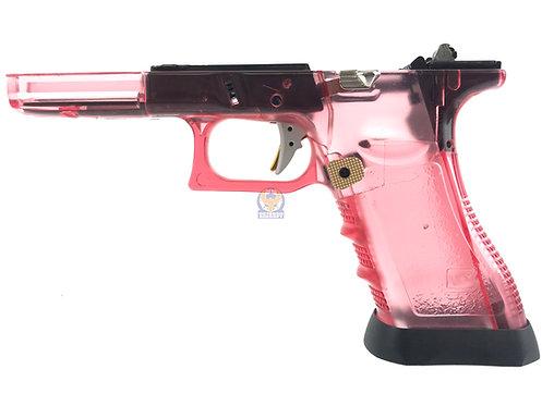 FLW Gen 3 Lower w/ Gun Modify Parts Transparent Red