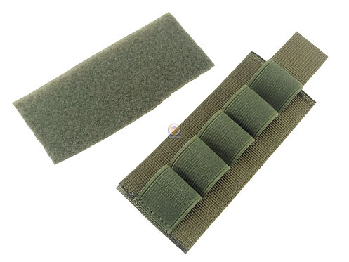 FLW M870 Tactical Shotgun Cartridge Reload Velcro Strip Shell Holder (OD)
