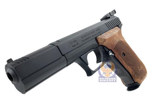MGC P7M13 Schumaher Custom GBB Pistol with Rose Wood Grip (Black)