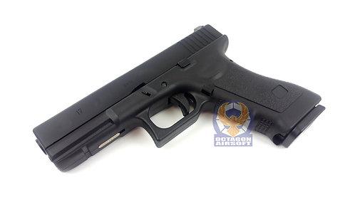 Army R17 Gas Blow Back Pistol (BK)